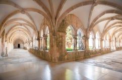 Monasterio antiguo de Batalha, Portugal Foto de archivo