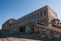 Monasterio arriba al oeste Imagenes de archivo