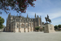 Monasterio Batalha, Portugal Foto de archivo