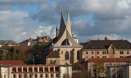 Monasterio benedictino foto de archivo libre de regalías