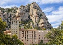 Monasterio benedictino de Santa Maria de Montserrat Imágenes de archivo libres de regalías
