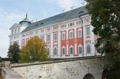 Monasterio benedictino en Broumov, la era barroca Imagen de archivo