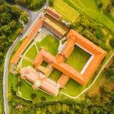 Monasterio benedictino en Kladruby Foto de archivo