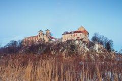 Monasterio benedictino en Tyniec cerca de Kraków Fotografía de archivo libre de regalías