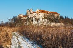 Monasterio benedictino en Tyniec, Polonia Imagen de archivo libre de regalías