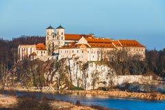 Monasterio benedictino en Tyniec, Polonia Fotografía de archivo