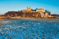 Monasterio benedictino en Tyniec, Polonia Fotos de archivo