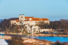 Monasterio benedictino en Tyniec, Polonia Imagen de archivo