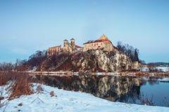 Monasterio benedictino en Tyniec, Polonia Imágenes de archivo libres de regalías