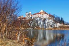 Monasterio benedictino en Tyniec, Polonia Imagenes de archivo