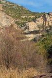 Monasterio benedictino europeo de la montaña Imagenes de archivo