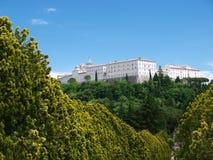 Monasterio benedictino, Monte Cassino, Italia Imagen de archivo libre de regalías
