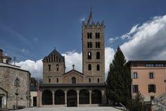 Monasterio benedictino Ripoll Fotografía de archivo libre de regalías