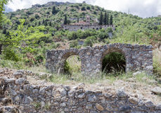 Monasterio bizantino Mystras de Pantanassa Foto de archivo libre de regalías