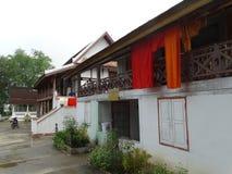 Monasterio budista en Luang Prabang, Laos Imagenes de archivo