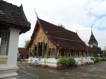 Monasterio budista en Luang Prabang, Laos Fotografía de archivo libre de regalías