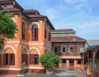 Monasterio budista en Myanmar Fotos de archivo libres de regalías