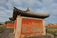 Monasterio budista Erdene Zu Fotos de archivo libres de regalías
