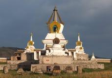 Monasterio budista Erdene Zu Fotografía de archivo libre de regalías