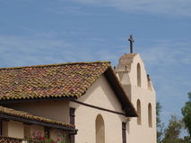 Monasterio californiano Fotos de archivo
