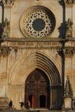 Monasterio cisterciense en Alcobaça Portugal Foto de archivo libre de regalías