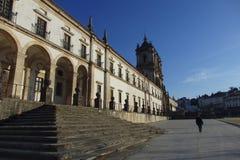 Monasterio cisterciense en Alcobaça Portugal Imágenes de archivo libres de regalías