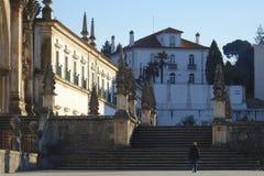 Monasterio cisterciense en Alcobaça Portugal Imagenes de archivo