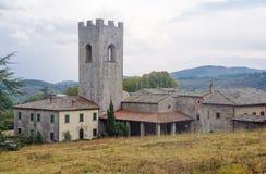Monasterio - Coltibuono Imágenes de archivo libres de regalías