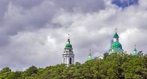Monasterio cristiano ortodoxo Imagen de archivo libre de regalías