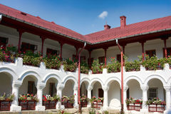 Monasterio de Agapia fotografía de archivo