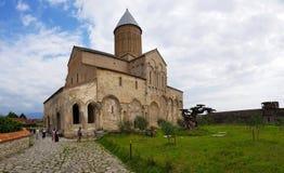 Monasterio de Alaverdi en Georgia fotografía de archivo libre de regalías