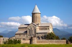 Monasterio de Alaverdi, Georgia fotografía de archivo