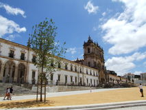 Monasterio de Alcobaça Foto de archivo