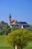Monasterio de Andechs, Baviera Fotos de archivo