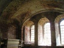 Monasterio de Antonievo-Verkalsky Restauración del templo Frescos únicos imagenes de archivo