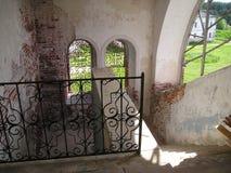 Monasterio de Antonievo-Verkalsky Restauración del templo Frescos únicos imagen de archivo libre de regalías
