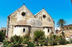 Monasterio de Arkadi Fotos de archivo libres de regalías