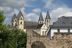 Monasterio de Arnstein en Alemania imagenes de archivo