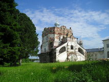 Monasterio de Artemievo-Vercolsky Reliquia ortodoxa fotos de archivo