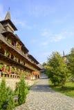 Monasterio de Barsana Imágenes de archivo libres de regalías
