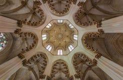 Monasterio de Batalha, en Portugal Fotografía de archivo