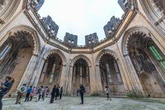 Monasterio de Batalha, en Portugal Imagen de archivo