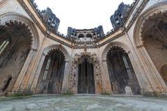 Monasterio de Batalha, en Portugal Foto de archivo