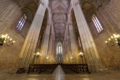 Monasterio de Batalha, en Portugal Imagenes de archivo