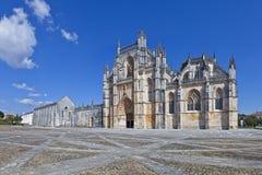Monasterio de Batalha Obra maestra de la arquitectura gótica y de Manueline Foto de archivo libre de regalías