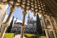 Monasterio de Batalha, Portugal Imagen de archivo