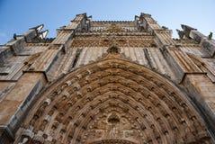 Monasterio de Batalha, Portugal Fotografía de archivo libre de regalías