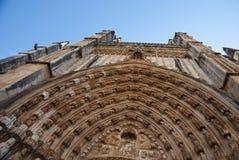 Monasterio de Batalha, Portugal Foto de archivo