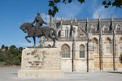 Monasterio de Batalha, Portugal Imágenes de archivo libres de regalías