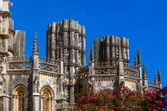 Monasterio de Batalha - Portugal Foto de archivo